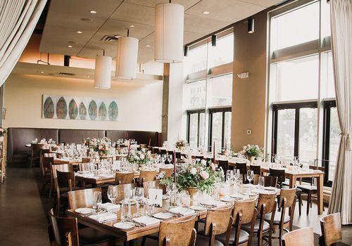 restaurant wedding