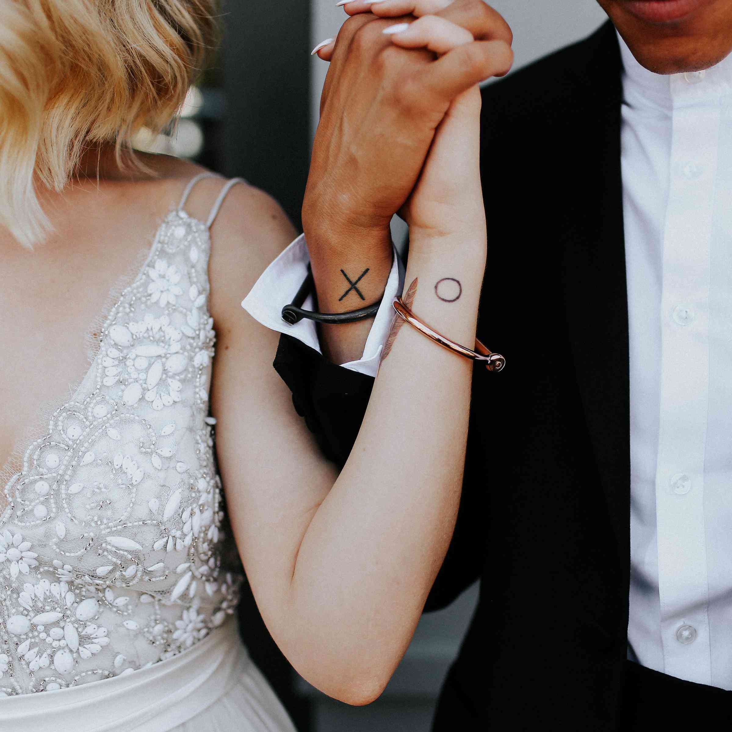 21 Cool Ideas For Couple's Wedding Tattoos