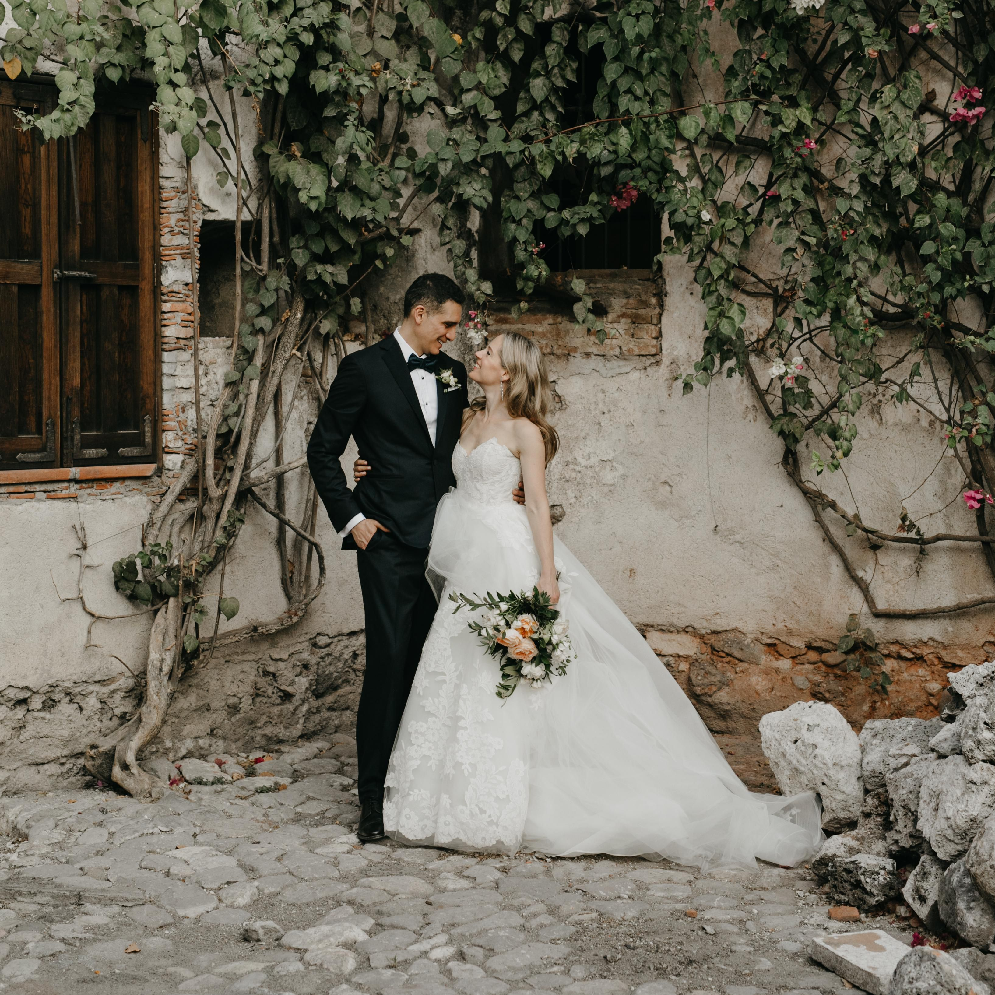 One Couple S Chic Wedding At A Hacienda Outside Of Mexico City