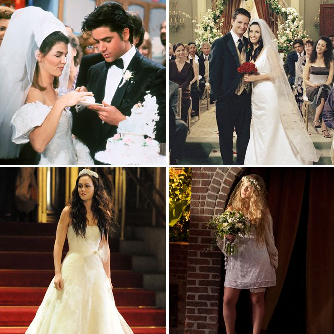 The Best TV Wedding Dresses