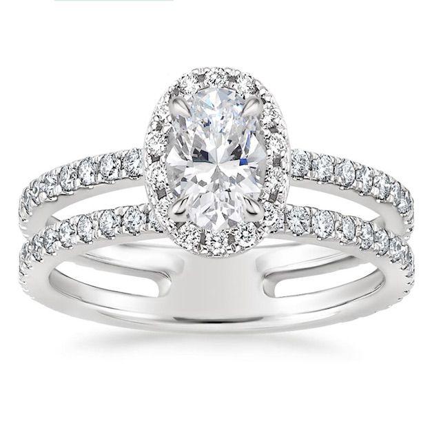Brilliant Earth Linnia Halo Diamond Engagement Ring