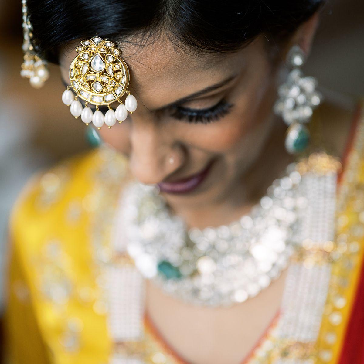 beauty shot of bride