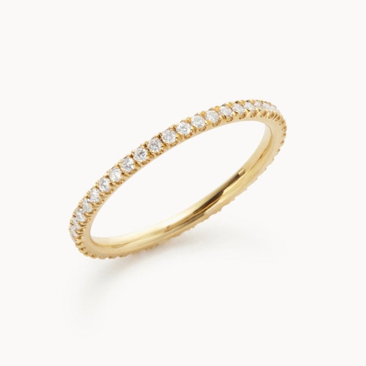 Vrai The Infinity Band in 18k Yellow Gold