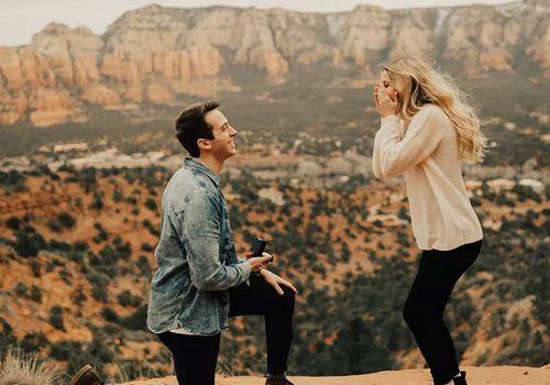Proposal in sedona