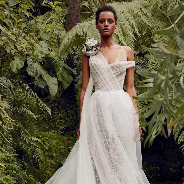 Vera Wang Camellia Dress