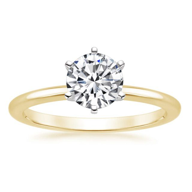 Brilliant Earth Six-Prong Petite Comfort Fit Engagement Ring