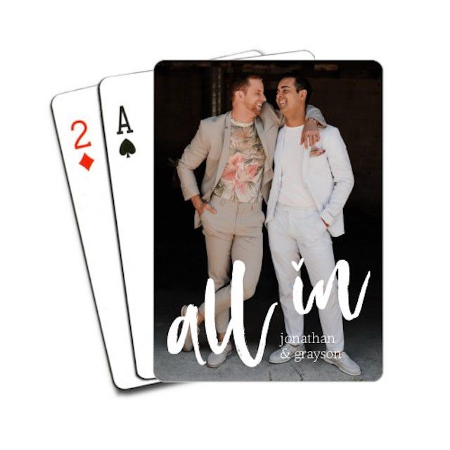 Shutterfly All In Love Playing Cards