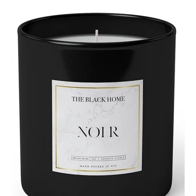 The Black Home Noir Candle