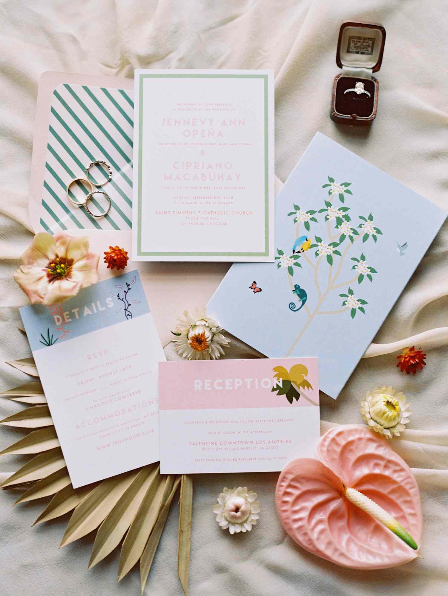 <p>Wedding invitations</p>