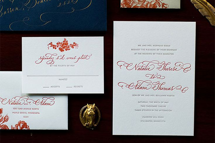Invitation Clues to Help Guests Guess The Wedding Attire