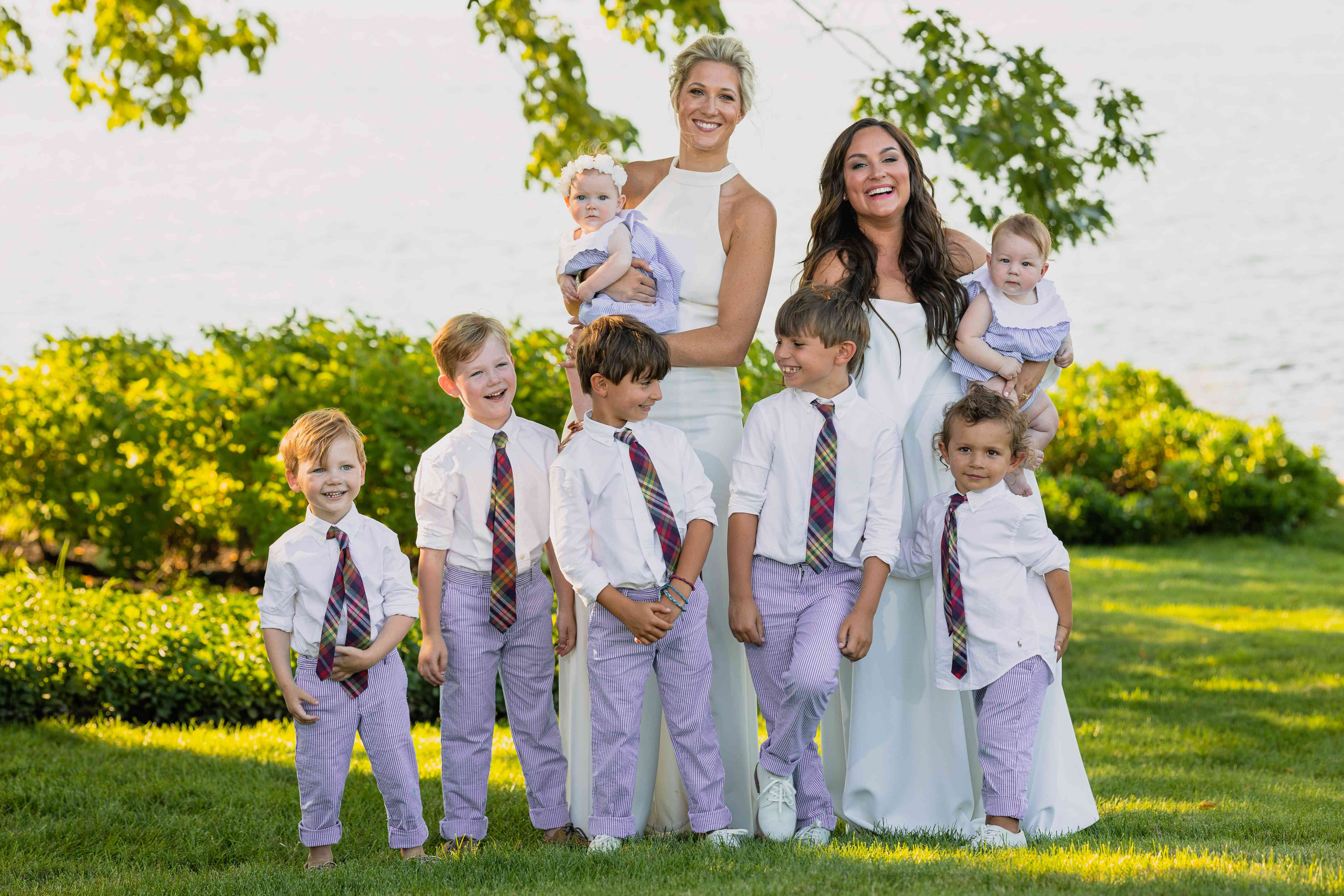 brides and kids