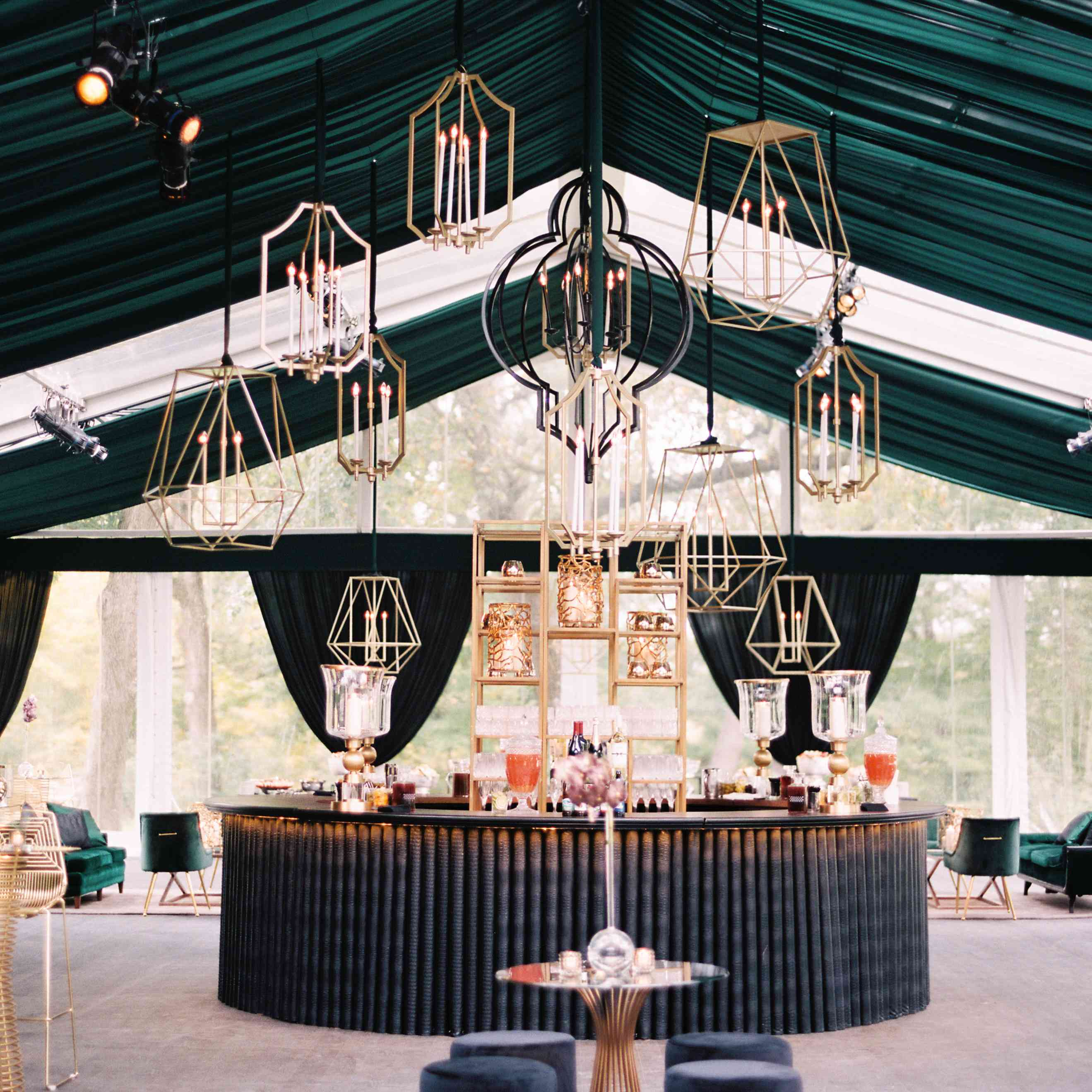Reception bar area