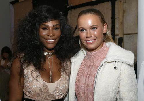 Serena Williams Celebrates at Caroline Wozniacki's Island Bachelorette Party With Daughter Olympia