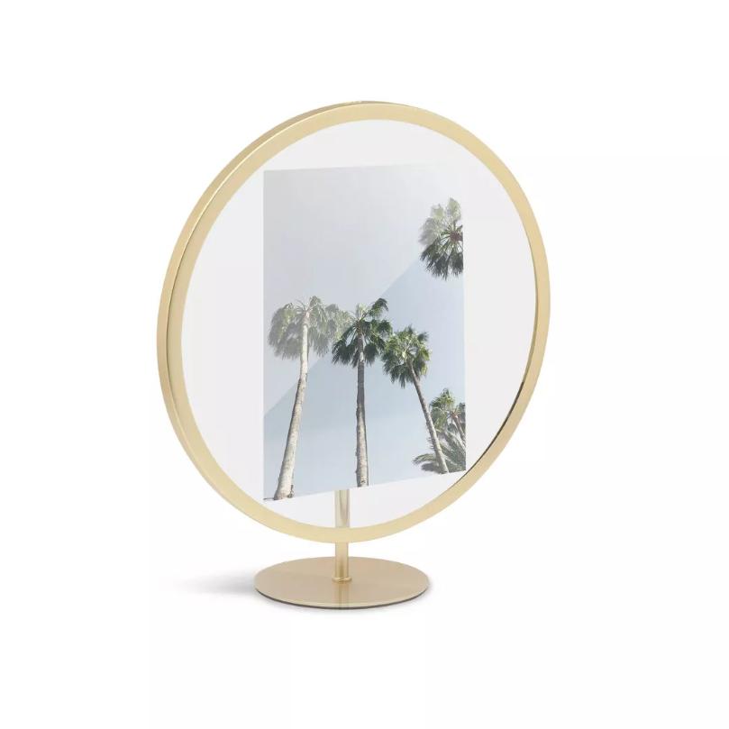Umbra Infinity Single Photo Display Brass Frame