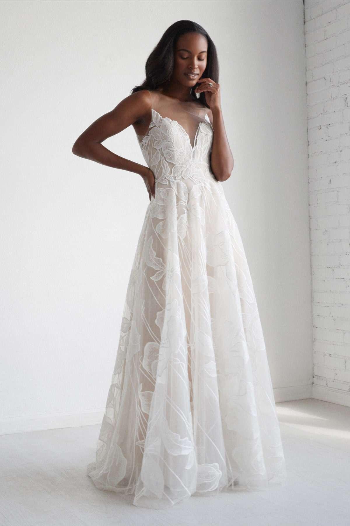 Watters Wisteria Wedding Dress