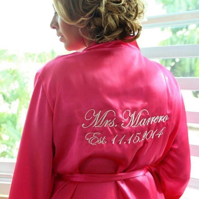 BridalPartyRobeShop Personalized Satin Robes