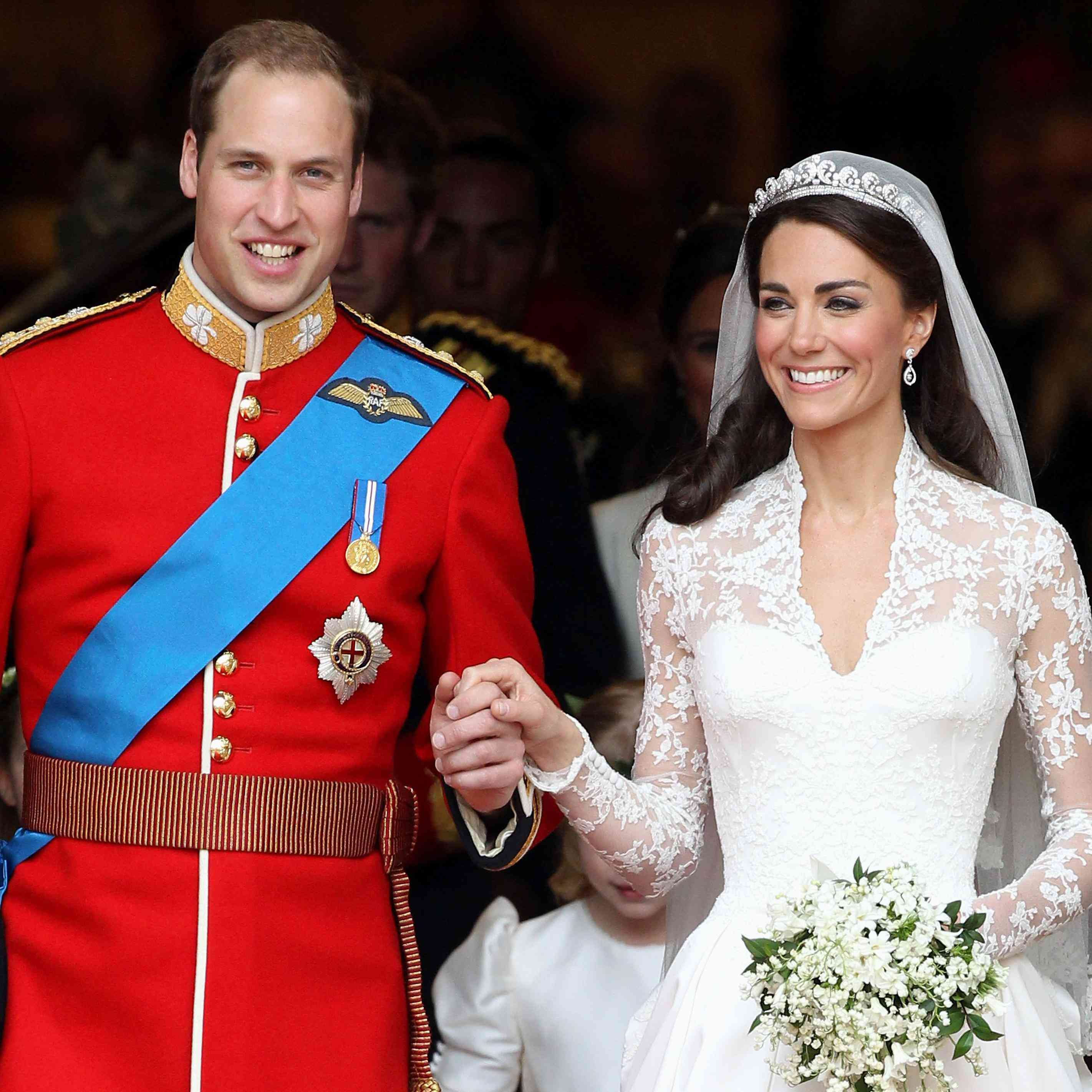 Pictures Of Royal Wedding.Kate Middleton And Prince William S Royal Wedding Day A