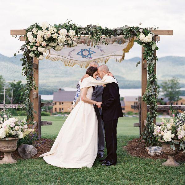 Jewish Wedding Under Chuppah