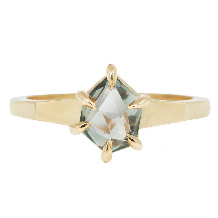 Lauren Wolf Green Montana Sapphire Ring