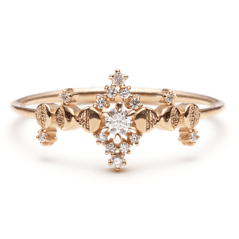 Sofia Zakia Diamond Cosmic Witch Ring