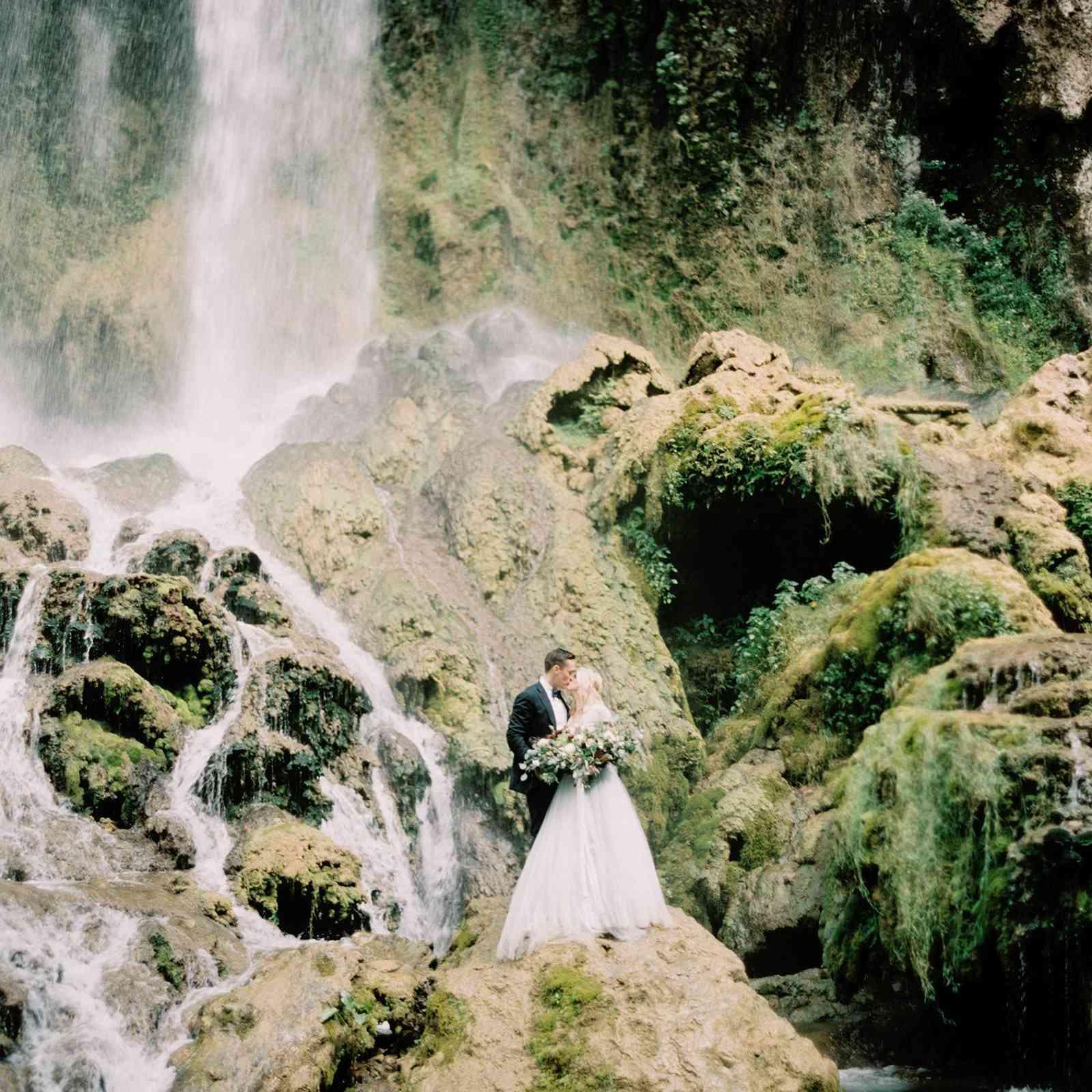 <p>Wedding photo in Covington, Virginia</p>