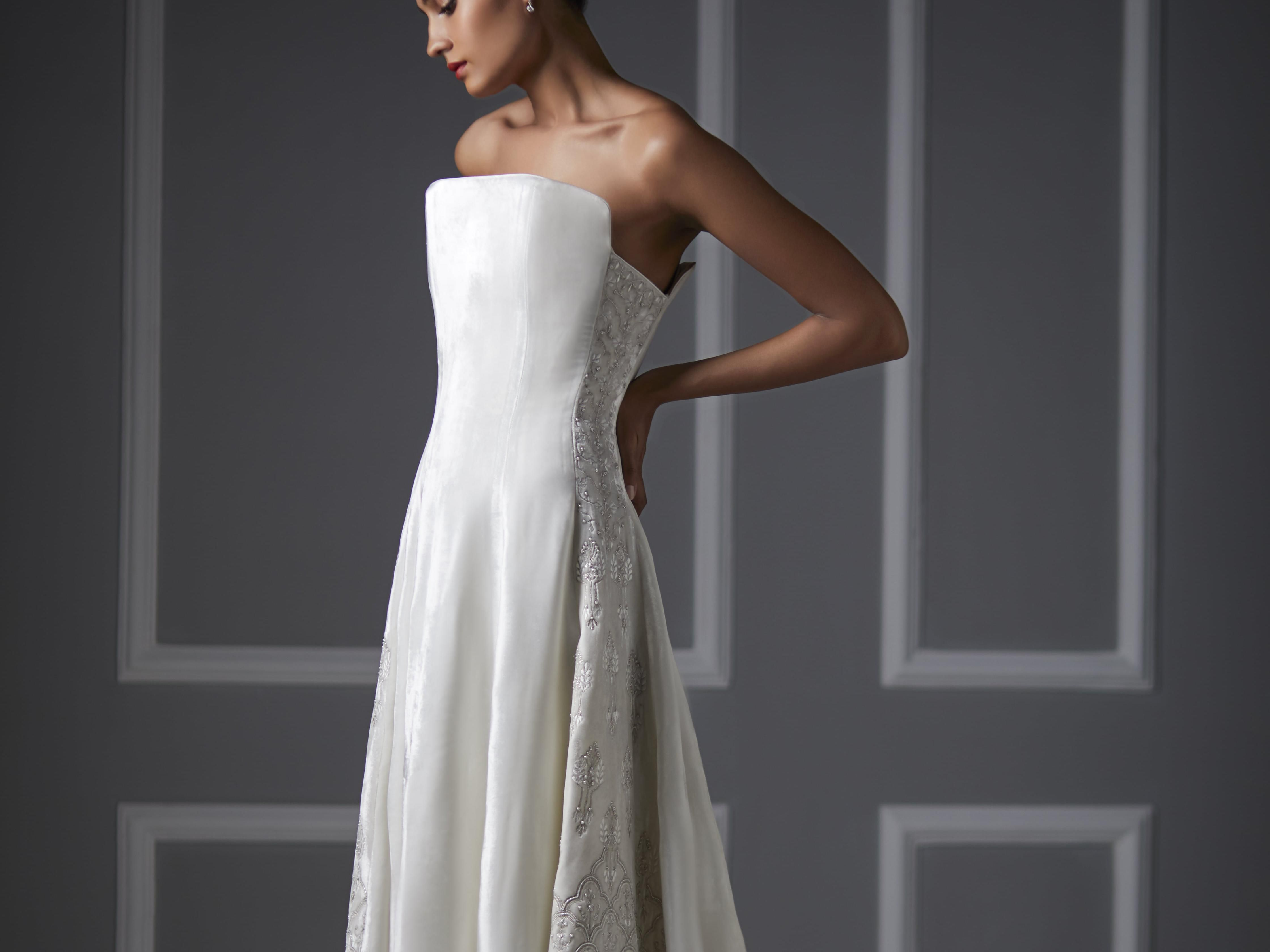 Indian Designer Anita Dongre Debuts Her First Ever Western Bridal Collection,Diamond Luxury Wedding Dresses