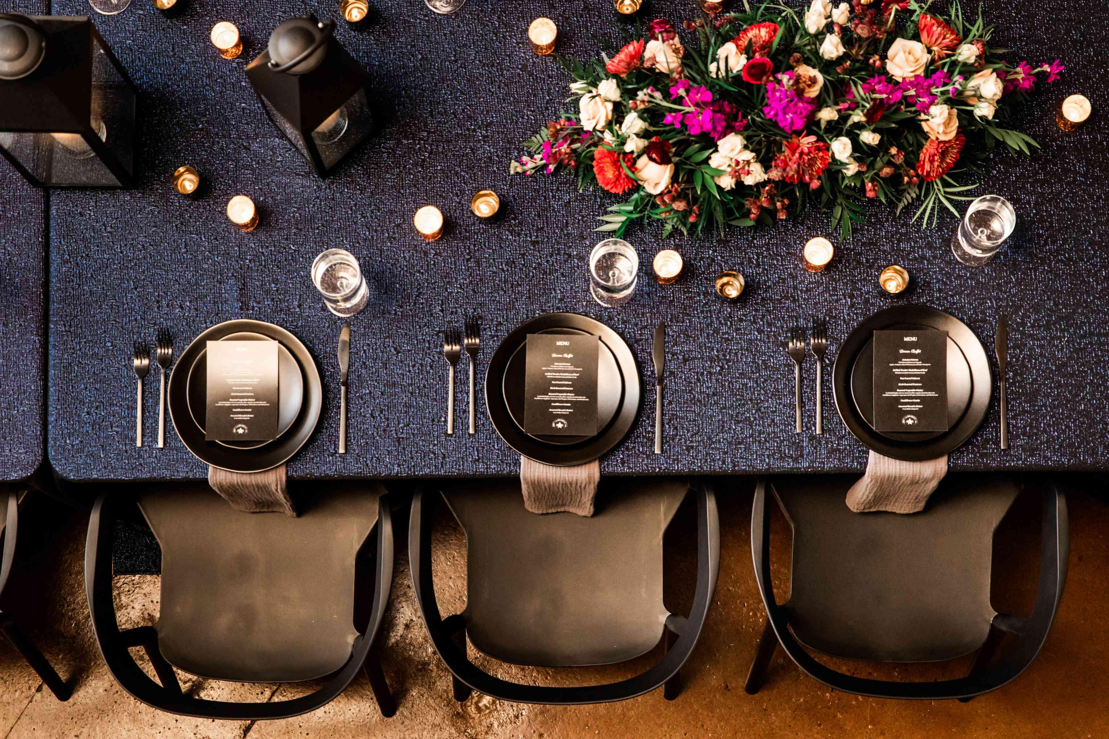 wish upon a wedding reception table