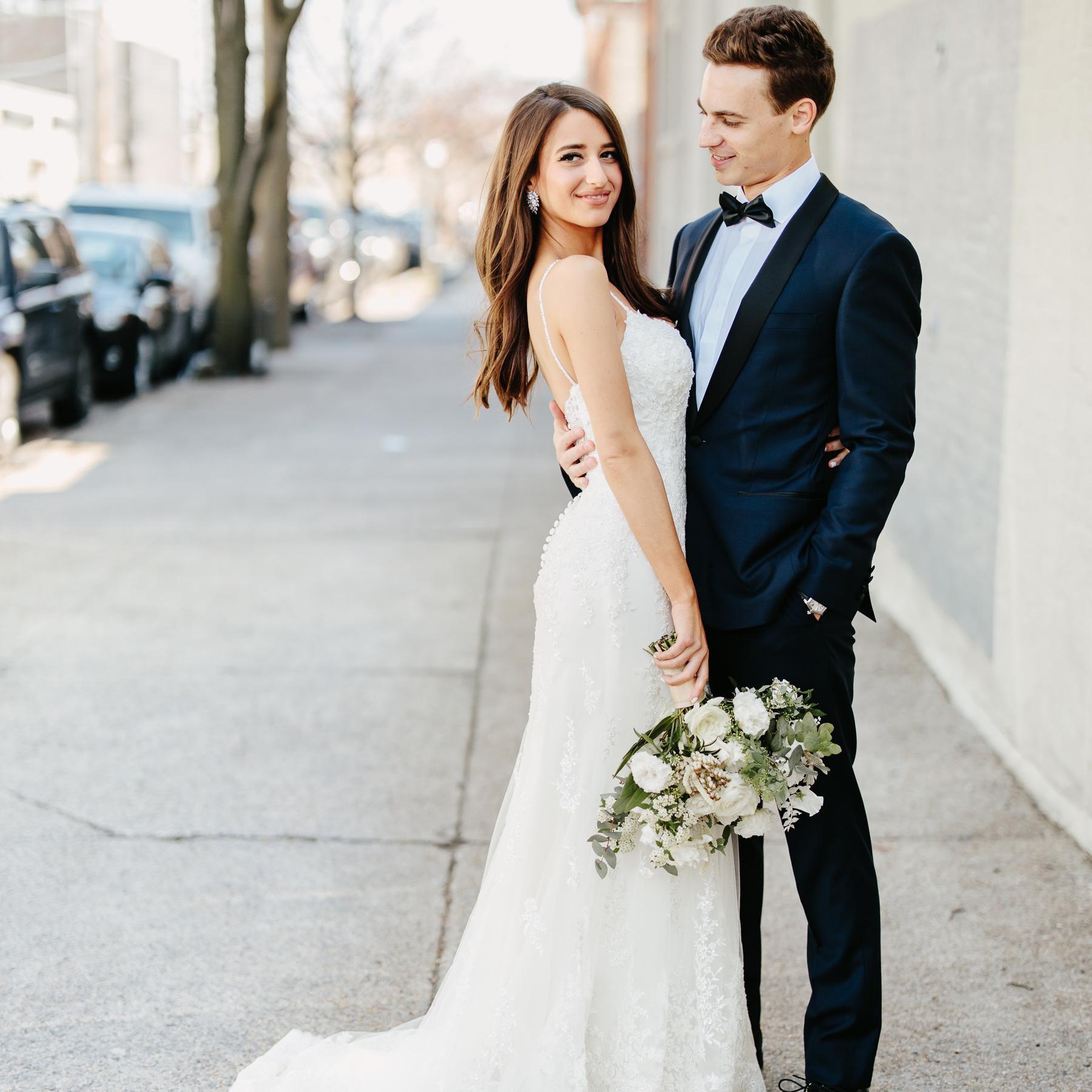 A Romantic Meets Industrial Wedding In Brooklyn