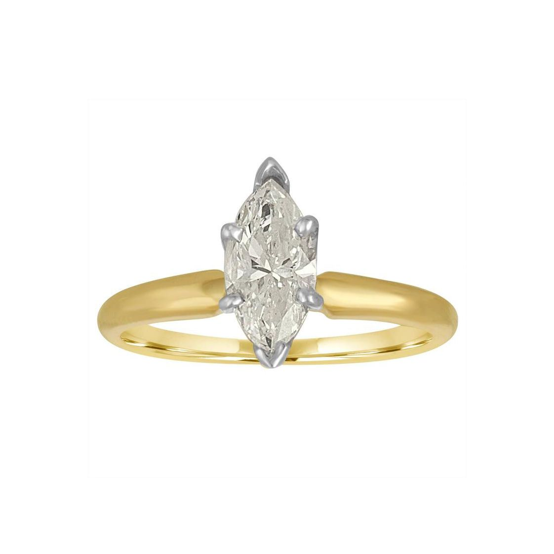 42 Mixed Metal Engagement Rings To Break The Rules