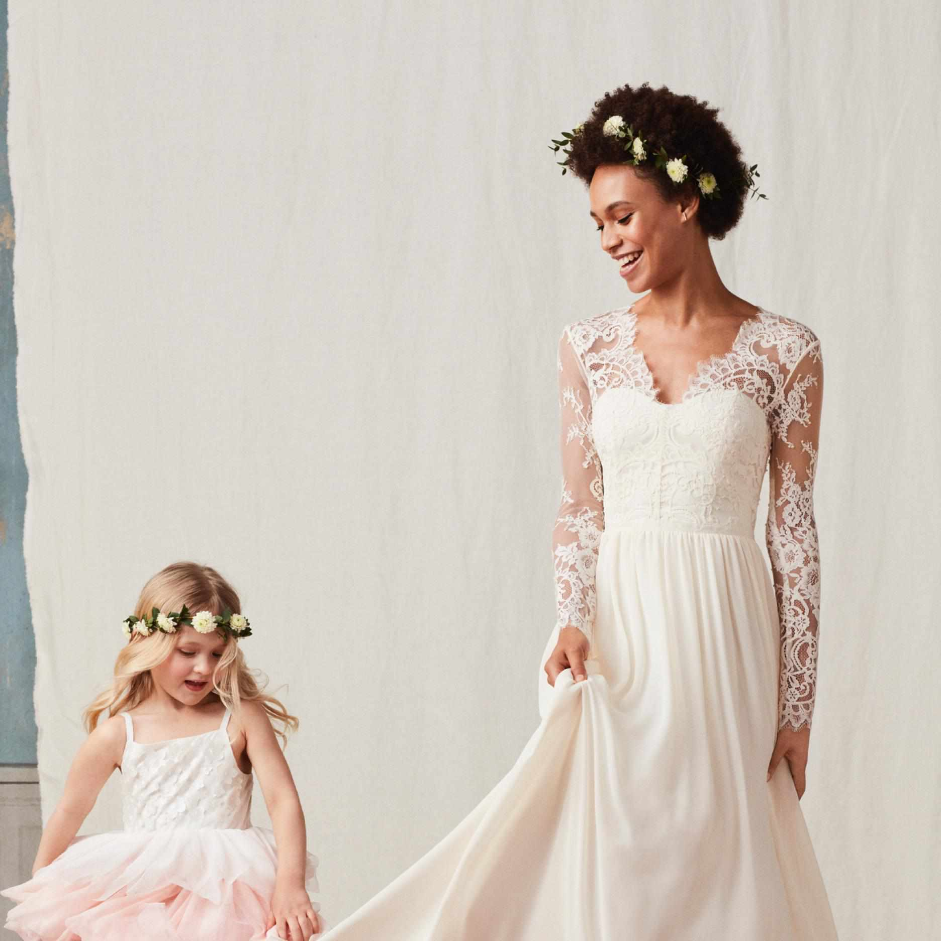 Hm Wedding Dress.Attention All Brides And Wedding Guests H M Wedding Shop Has