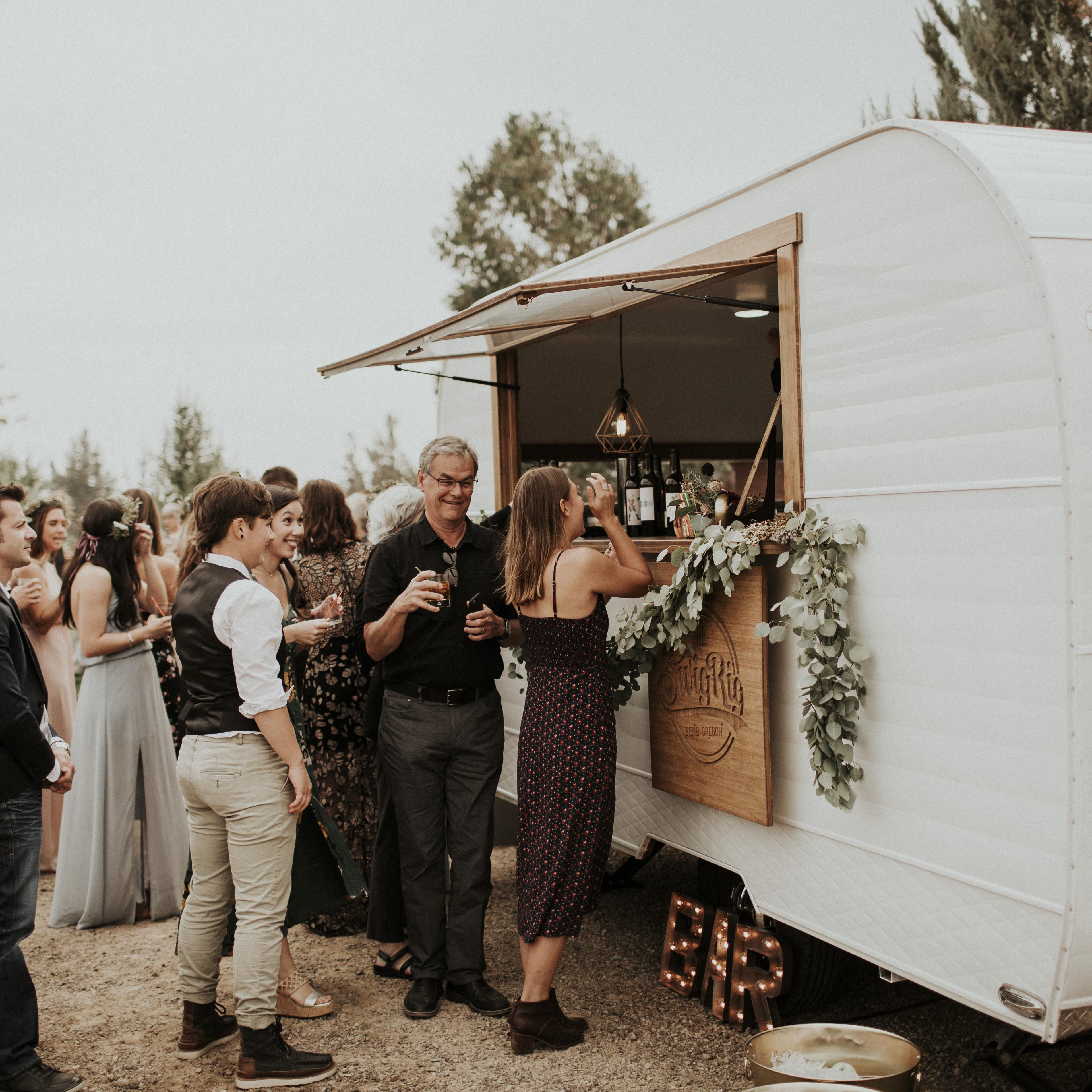 A Mobile Bar Will Make Your Reception Unforgettable