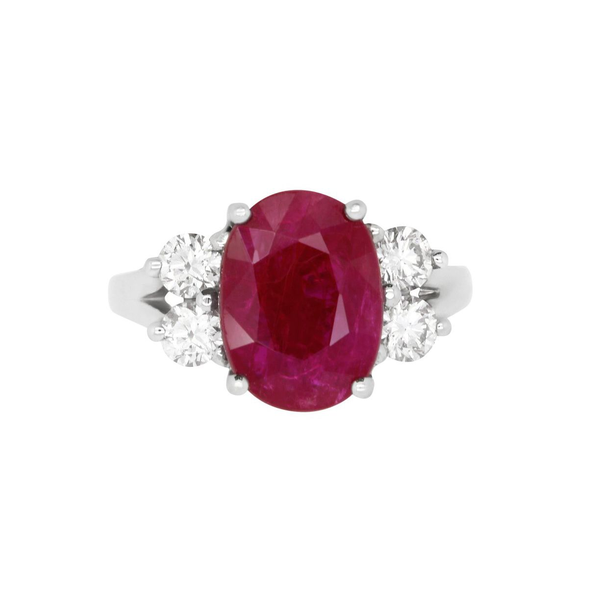 47 Ruby Red Engagement Rings Ideas & Styles