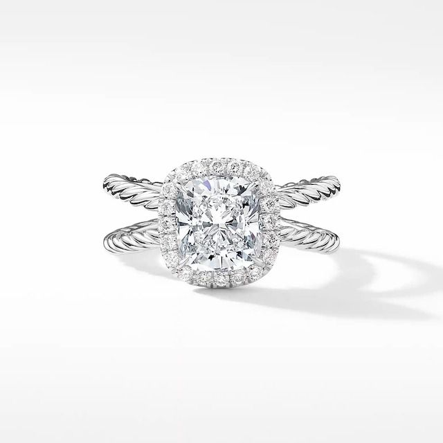 DY Crossover Capri Engagement Ring
