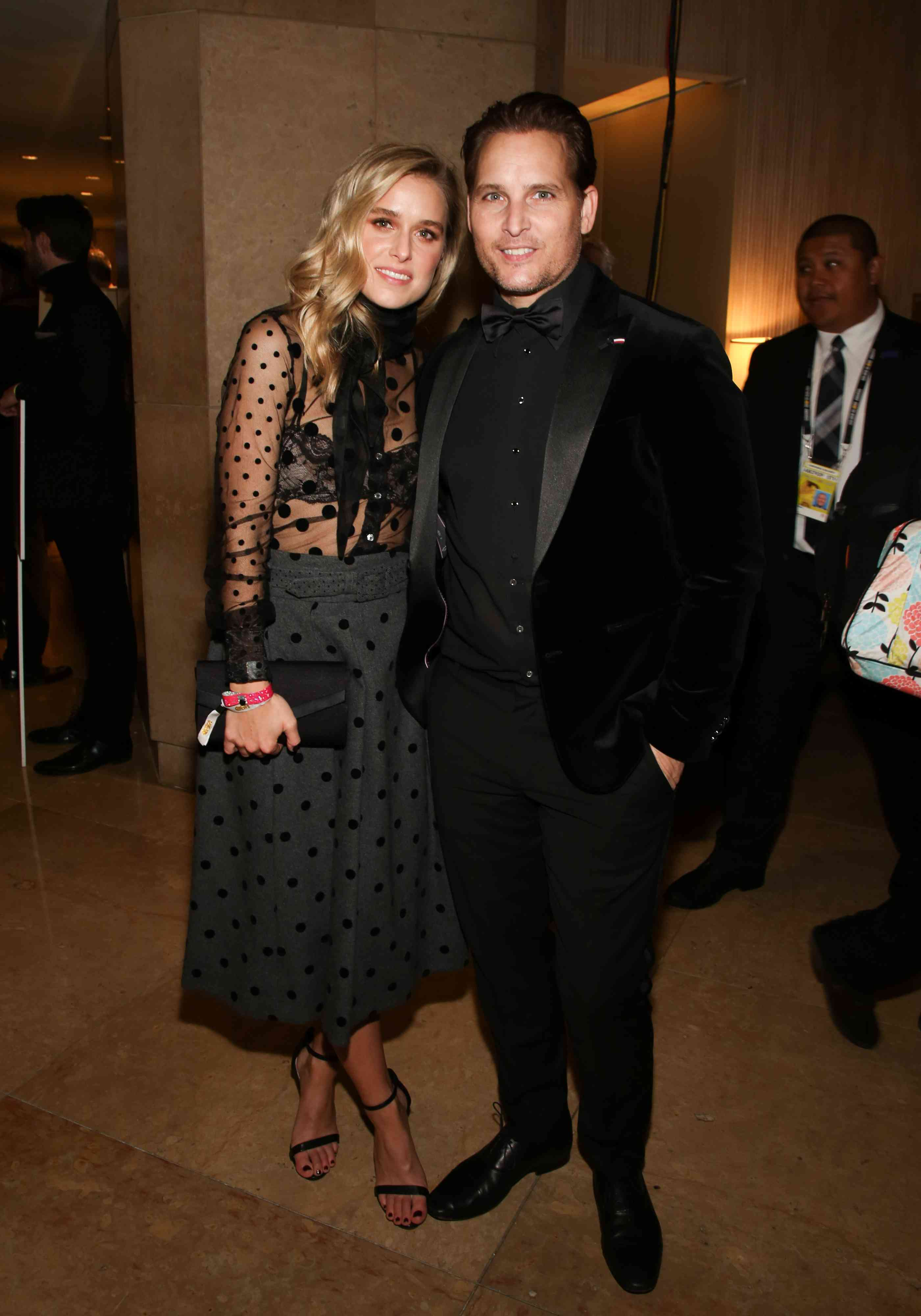 Peter Facinelli and Lily Anne Harrison