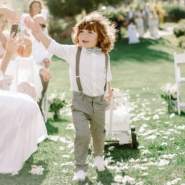 What Song Do Brides Walk Down The Aisle To: What's The Appropriate Age For A Flower Girl Or Ring Bearer?