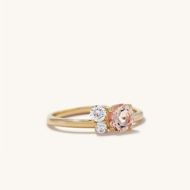 Mejuri Round Cut Ring