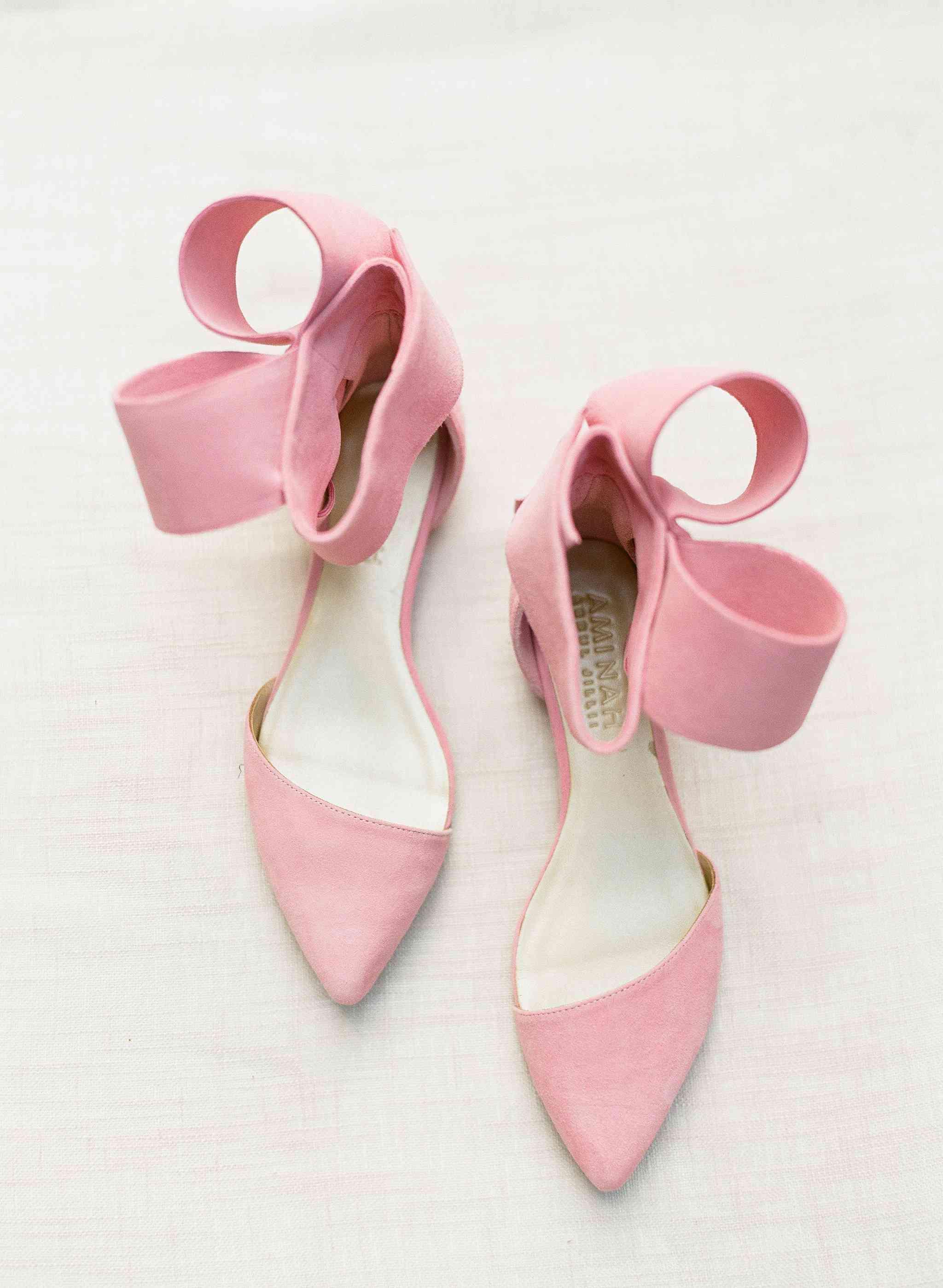 Pink Aminah Abdul Jillil Shoes