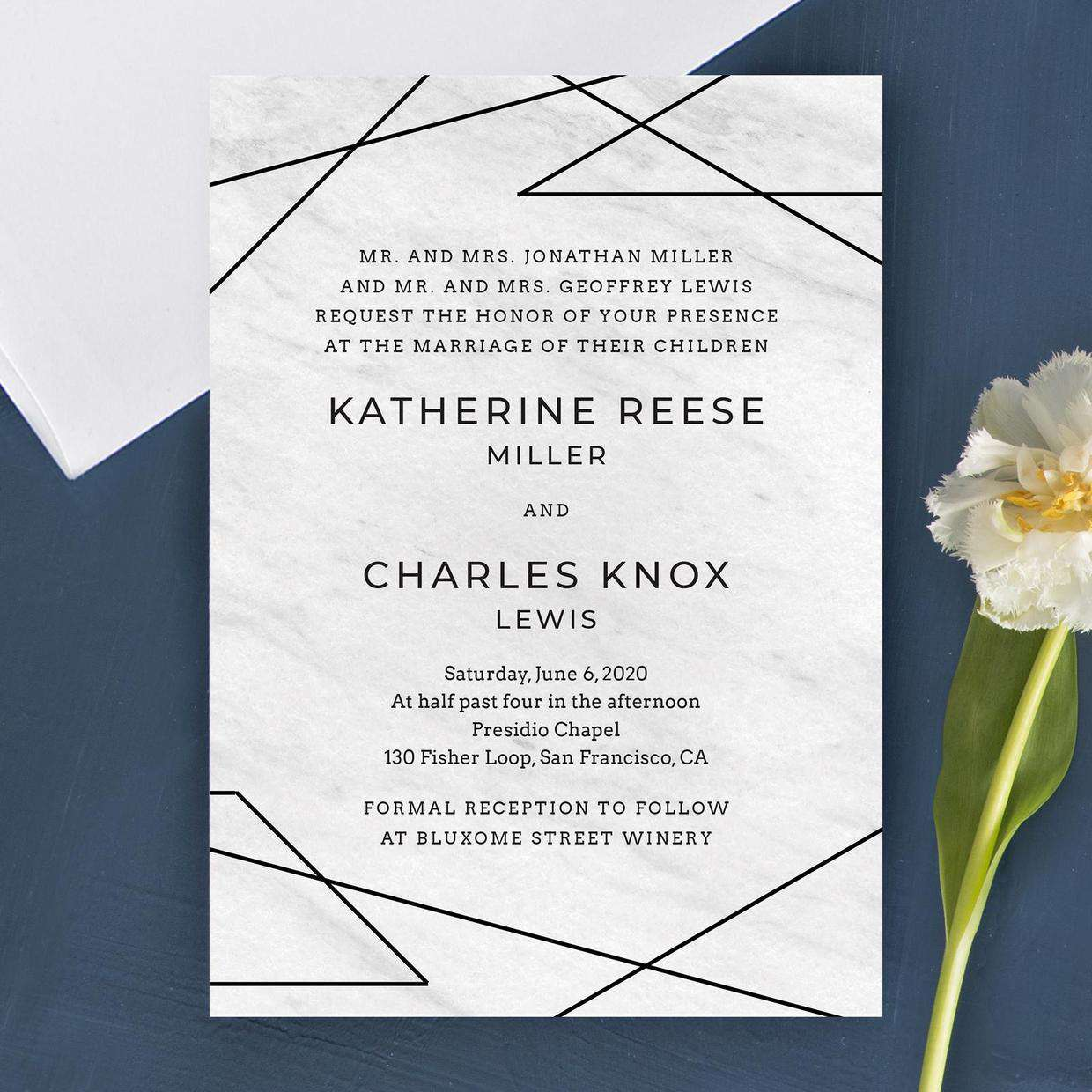 Celebrity Wedding Invites: 7 Invitations Inspired By Our Favorite Celeb Weddings