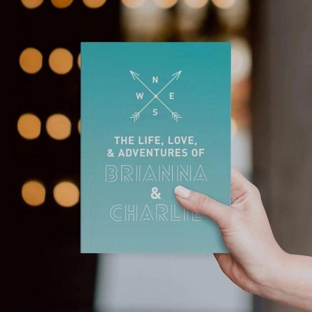 JournoTravelGoods Custom Trip Journal for Couples