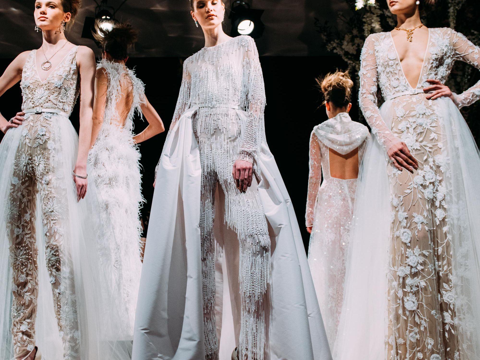 Naeem Khan Bridal Spring 2019