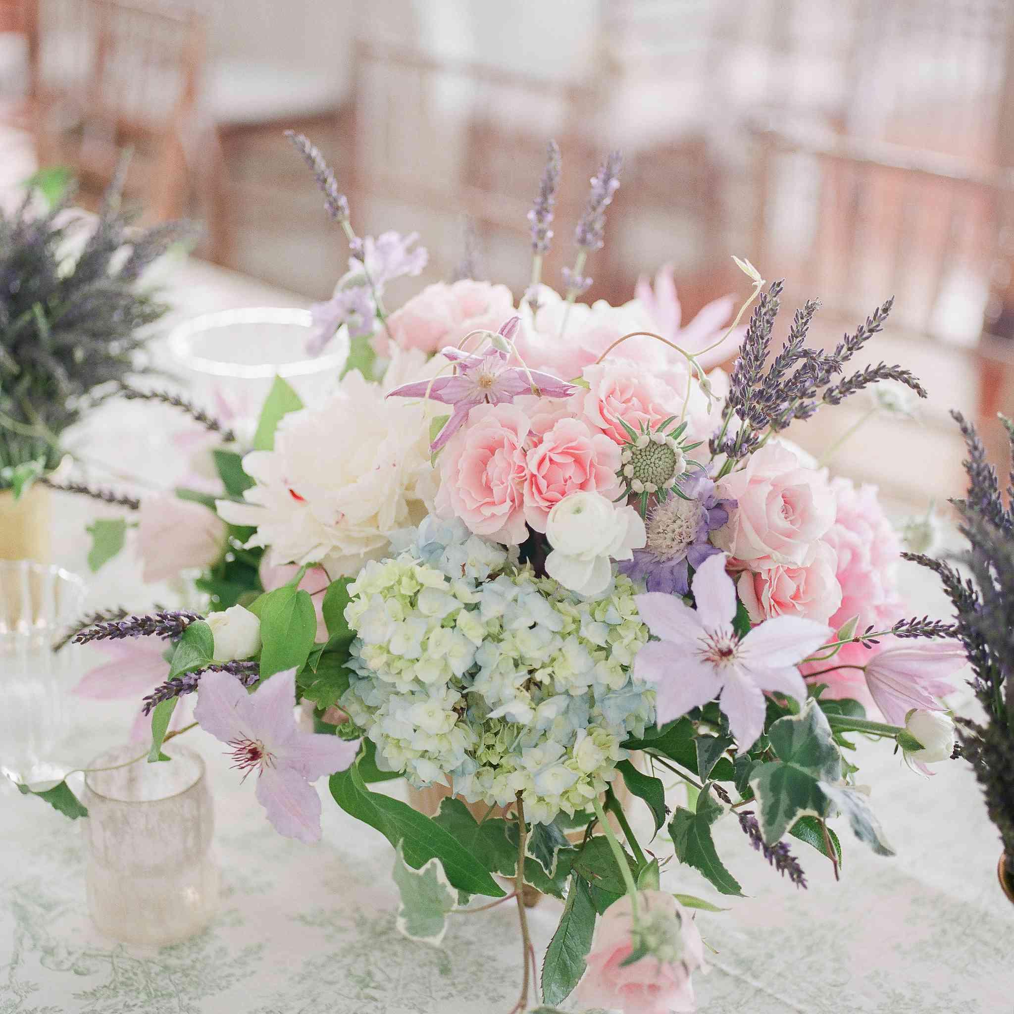 Pastel-Flowered Flowers