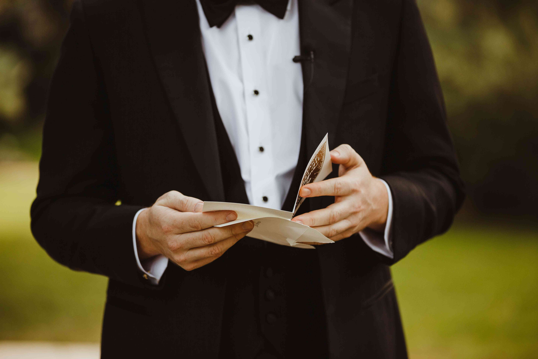 groom card