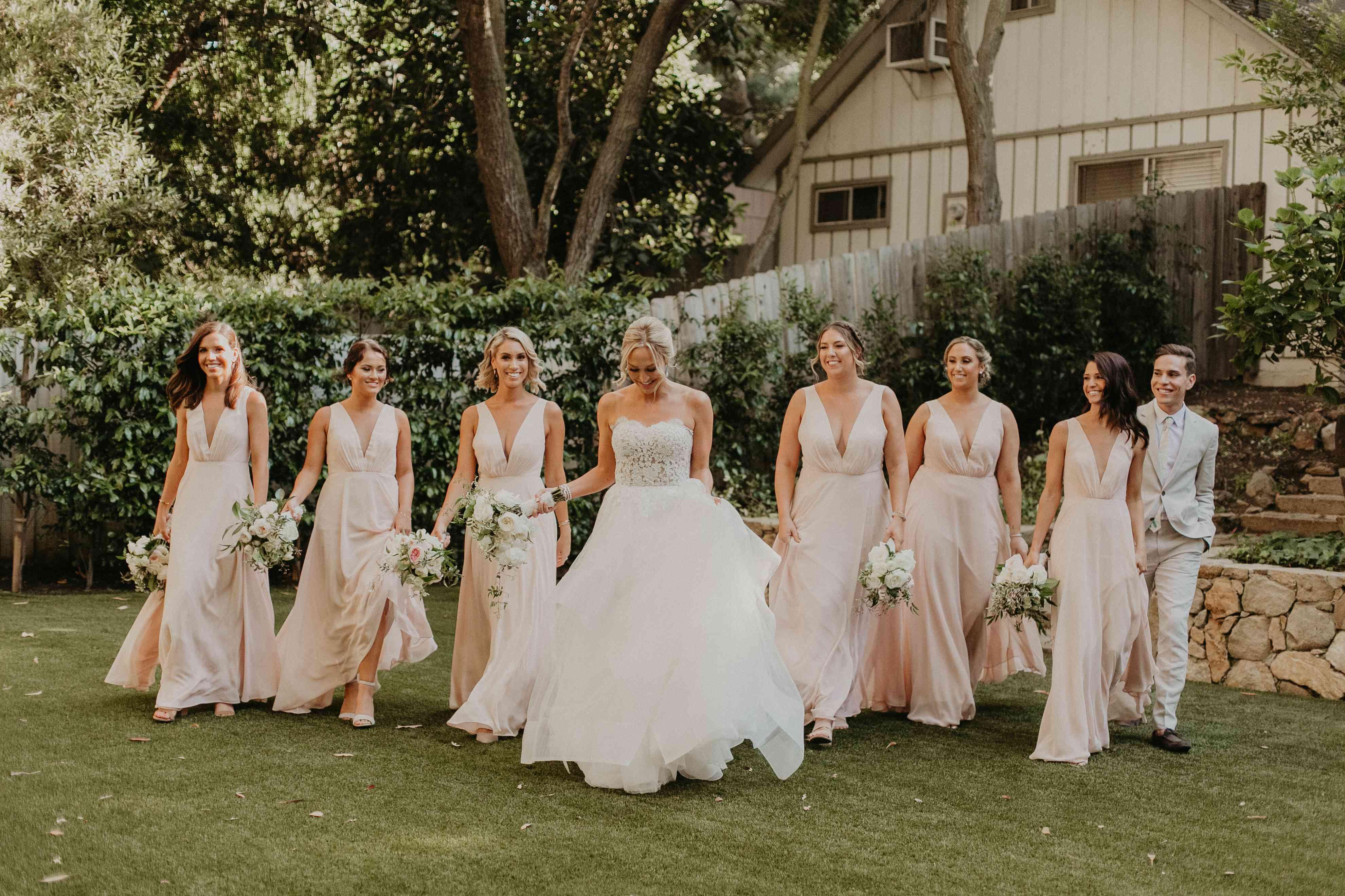 Baker Mayfield Wedding, bridesmaids