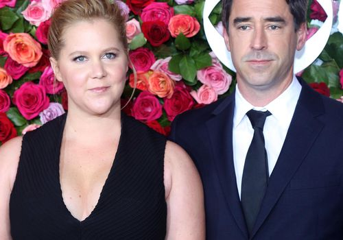 Amy Schumer and Chris Fischer attend the 72nd Annual Tony Awards.