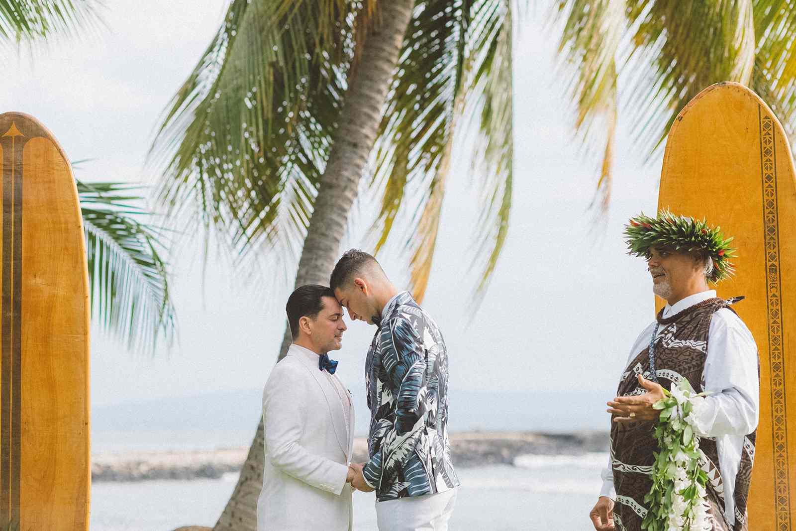 Gay Wedding In Hawaii, Gay Destination Wedding Hawaii, Hawaii Big Island Gay Wedding