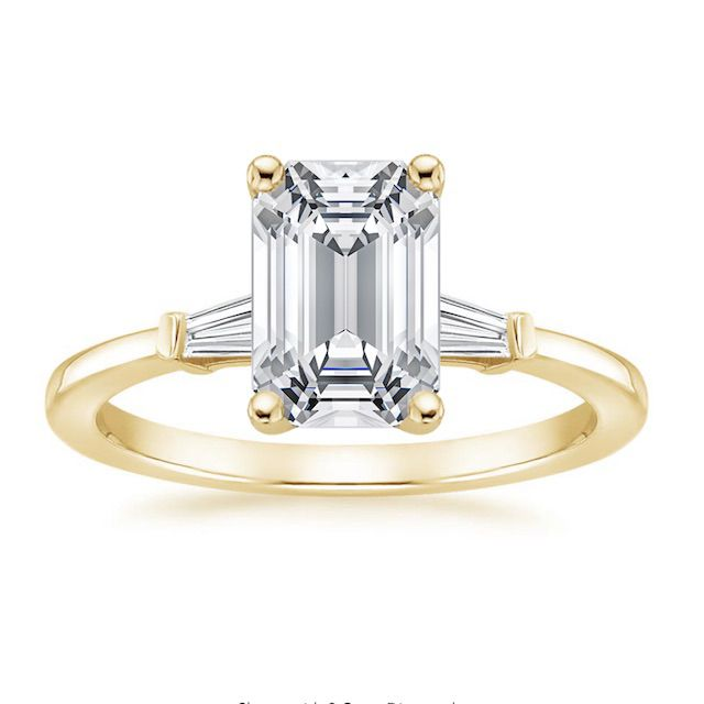 Brilliant Earth Tapered Baguette Diamond Engagement Ring