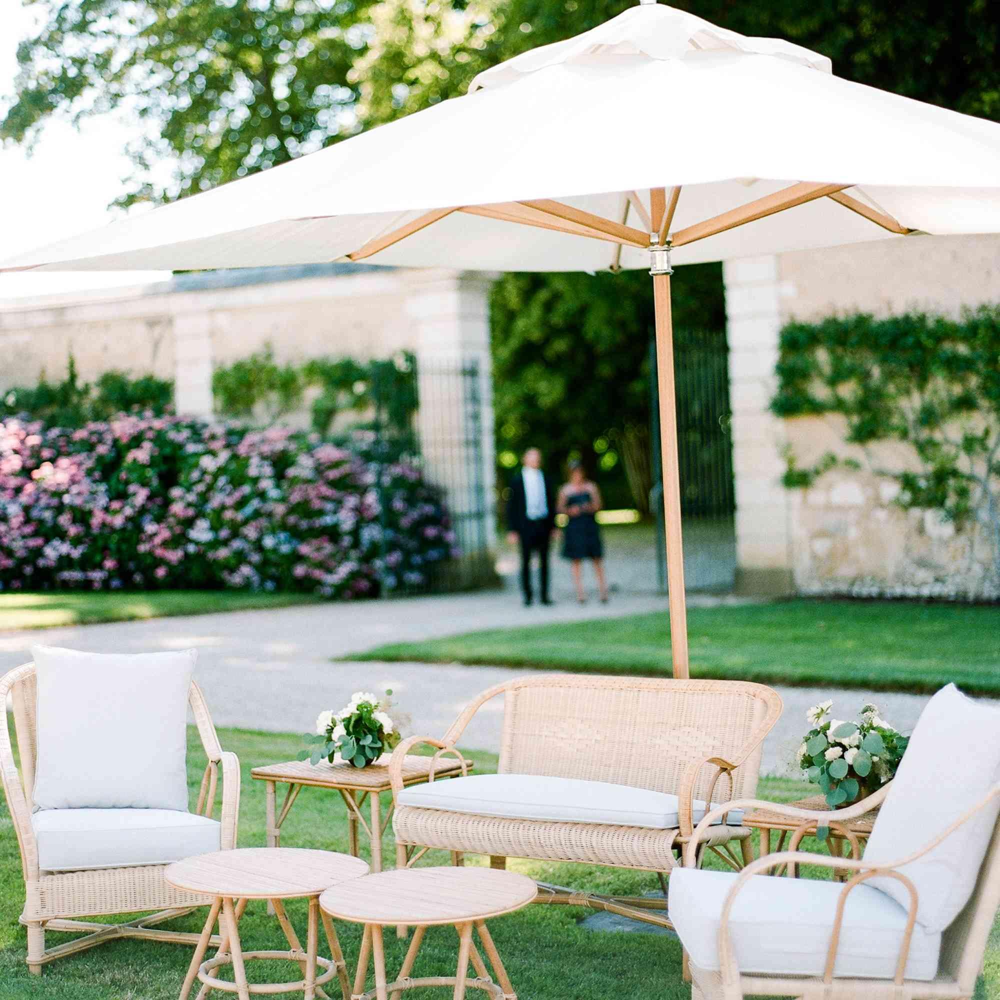 <p>Wedding reception seating arrangement</p><br><br>
