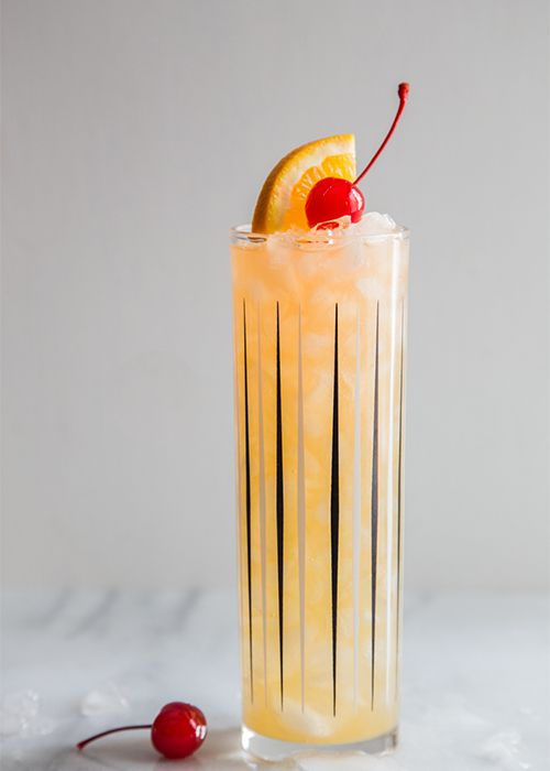 alcohol, tequila, lime, glass, drink, bar, cocktail, cherry, tall glass, fruit