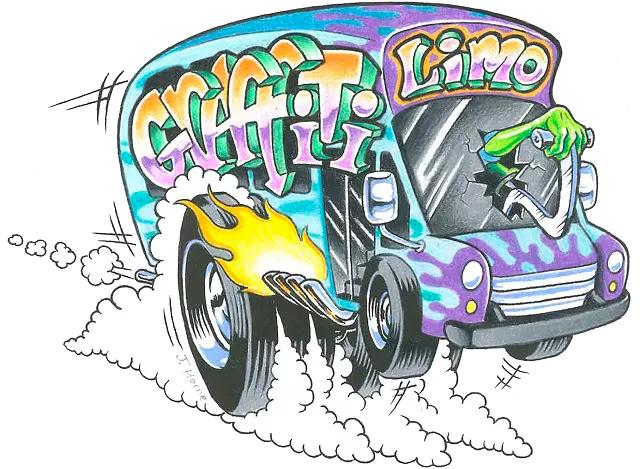 Chucktown Graffiti Limo
