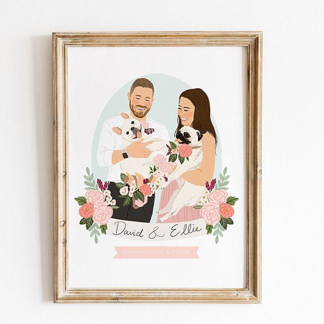 Custom Couple Portrait